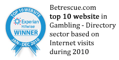 Experian top 10 gambling site award